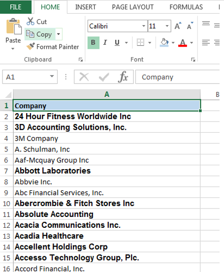 Filter By Bold Text In Excel